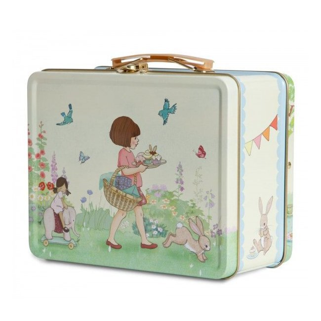 valise m tal lunchbox belle boo birthday party