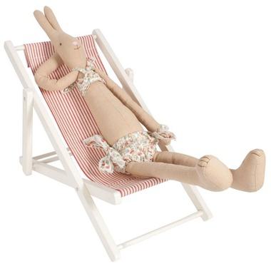 christmas cadeaux no l petite fille 3 6 ans chaise longue en bois m dium rose milk. Black Bedroom Furniture Sets. Home Design Ideas